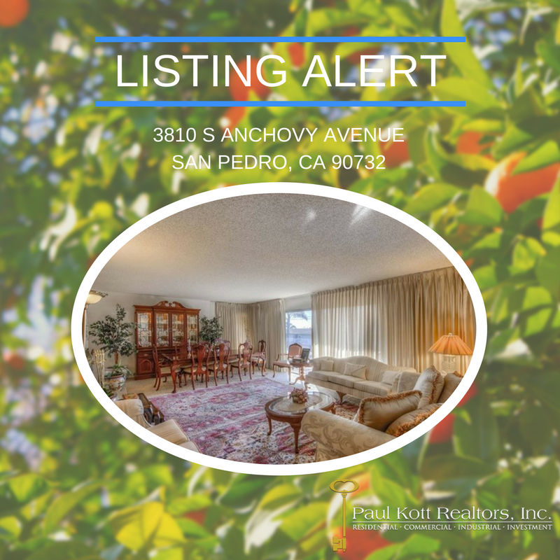 New Listing: Anchovy Ave., San Pedro